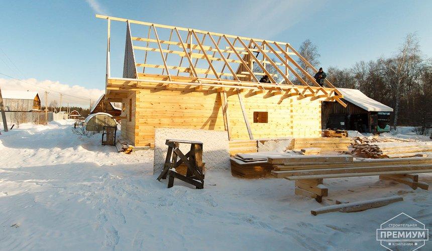 Строительство дома из бруса в п. Исток 2