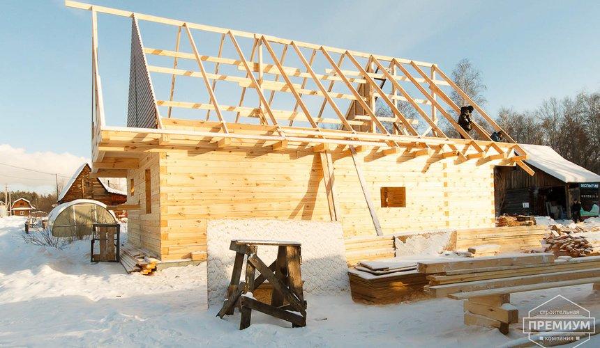 Строительство дома из бруса в п. Исток 3