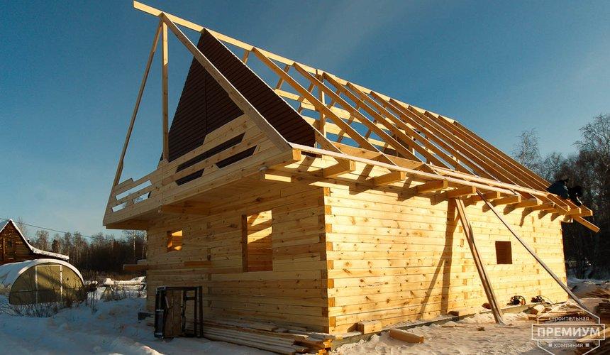 Строительство дома из бруса в п. Исток 4