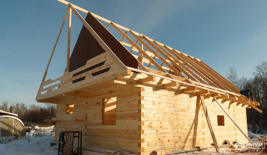 Строительство дома из бруса в п. Исток 5