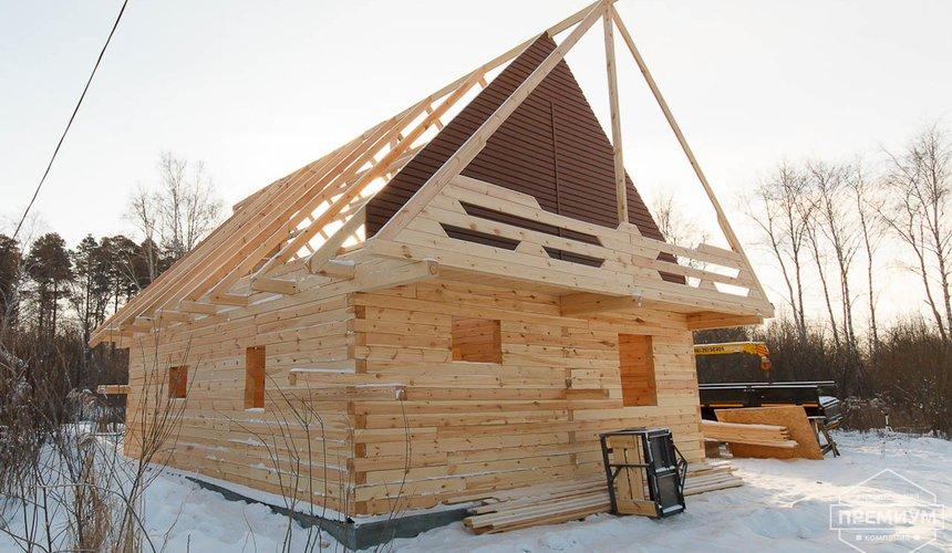 Строительство дома из бруса в п. Исток 6