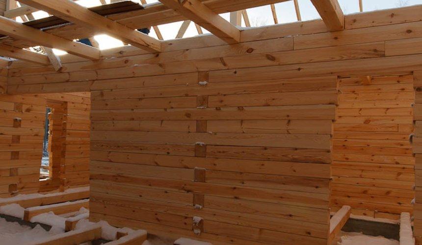 Строительство дома из бруса в п. Исток 7