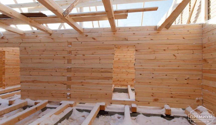 Строительство дома из бруса в п. Исток 8