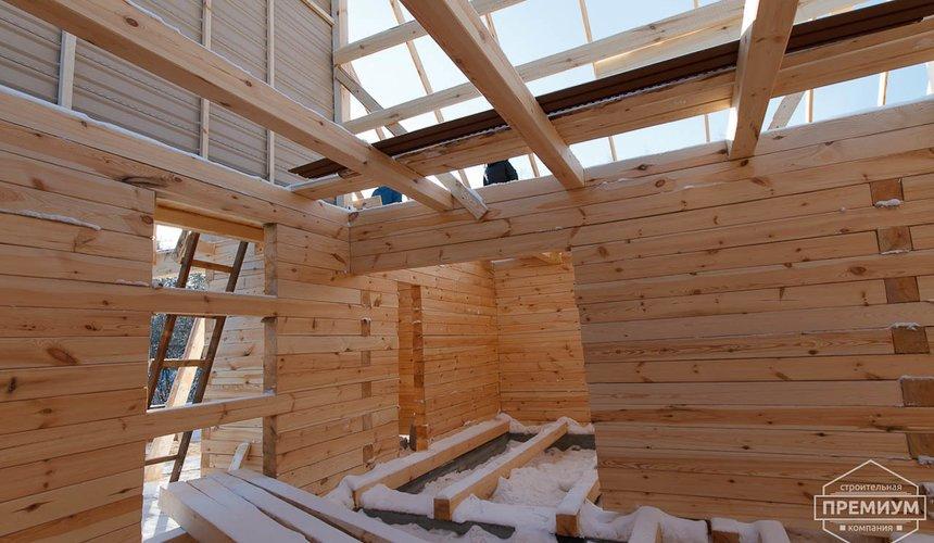 Строительство дома из бруса в п. Исток 10