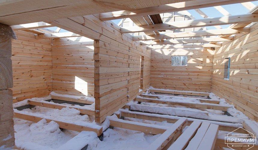 Строительство дома из бруса в п. Исток 11