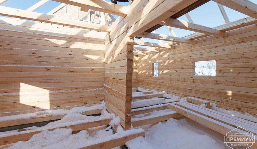 Строительство дома из бруса в п. Исток 13