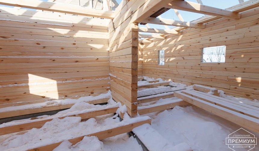 Строительство дома из бруса в п. Исток 14