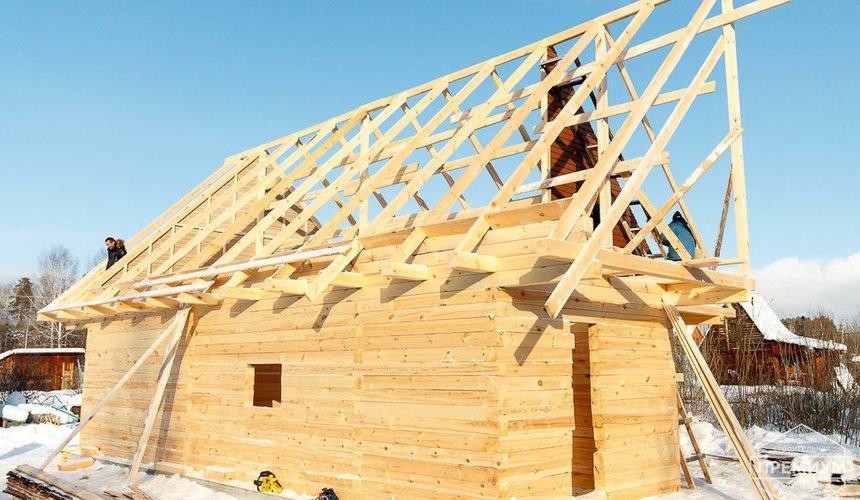 Строительство дома из бруса в п. Исток 15