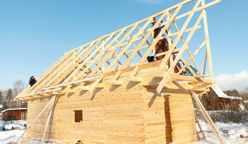 Строительство дома из бруса в п. Исток 16
