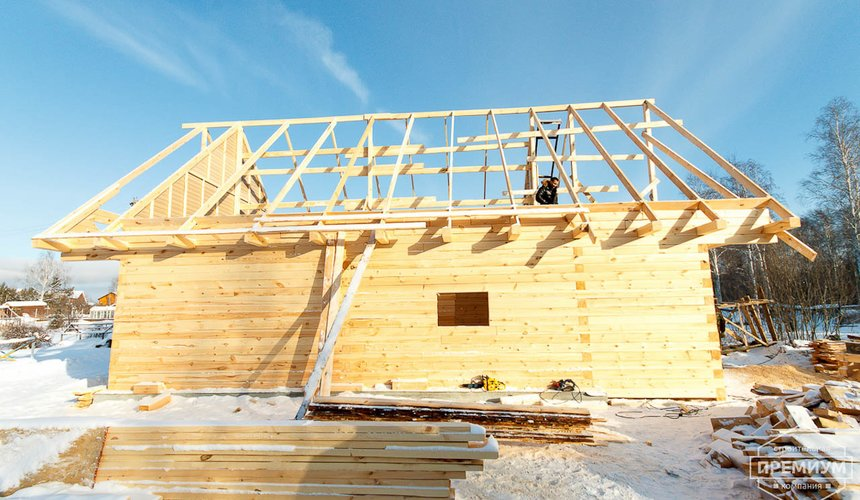 Строительство дома из бруса в п. Исток 17