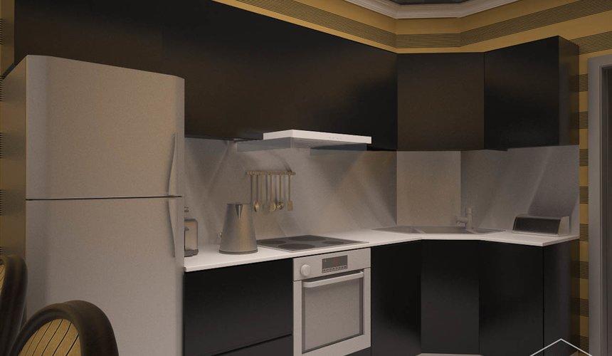 Дизайн интерьера однокомнатной квартиры по ул. Посадская 34 3