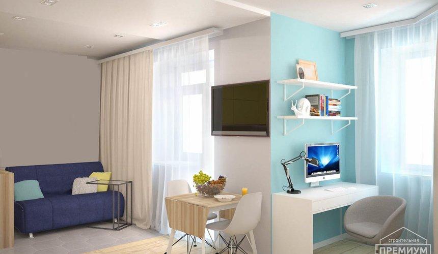 Ремонт и дизайн интерьера однокомнатной квартиры по ул. Сурикова 53а 66