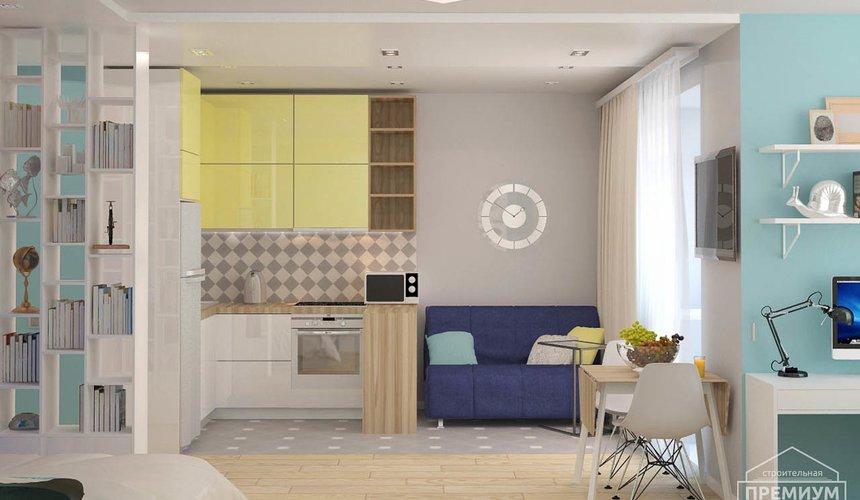 Ремонт и дизайн интерьера однокомнатной квартиры по ул. Сурикова 53а 71
