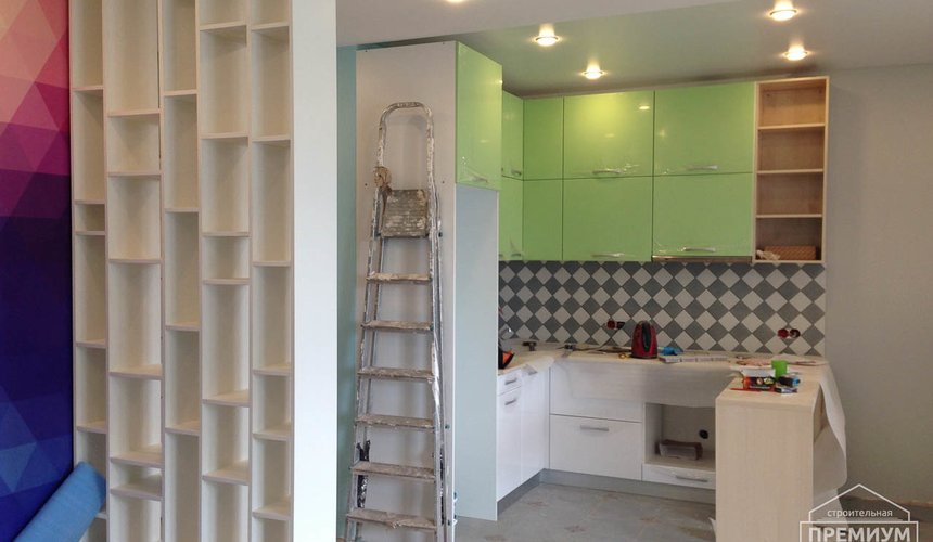 Ремонт и дизайн интерьера однокомнатной квартиры по ул. Сурикова 53а 59