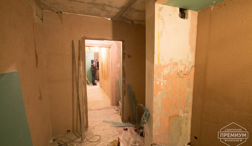 Ремонт трехкомнатной квартиры по ул. Бажова 134 18