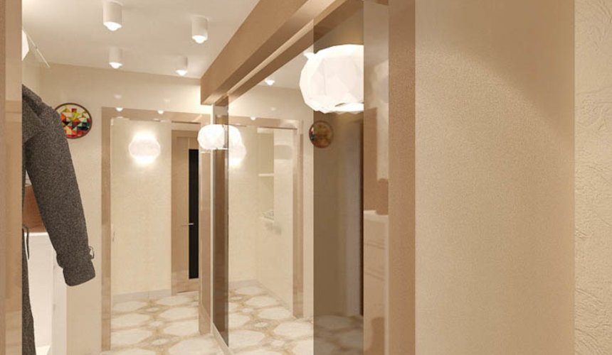 Ремонт трехкомнатной квартиры по ул. Бажова 134 46