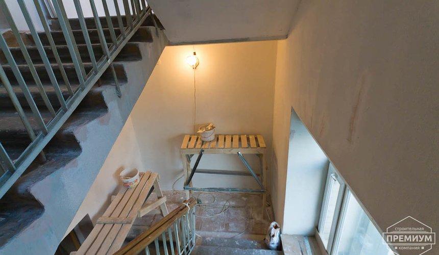 Ремонт лестничной клетки в офисном здании по ул. Шаумяна 24
