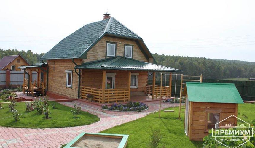 Строительство дома из бруса в п. Северка 2