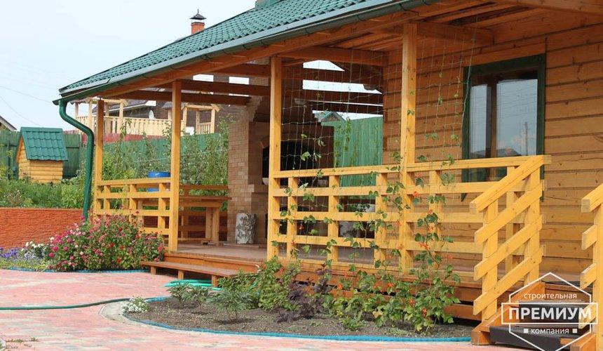 Строительство дома из бруса в п. Северка 3