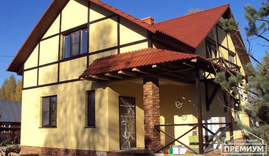 Проектирование и строительство коттеджа из блоков в п. Старопышминский 1