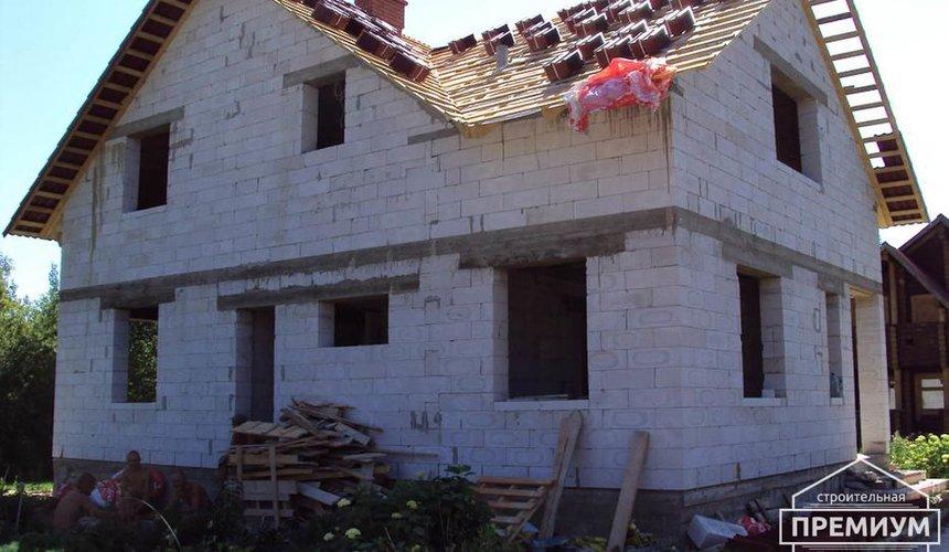 Проектирование и строительство коттеджа из блоков в п. Старопышминский 5