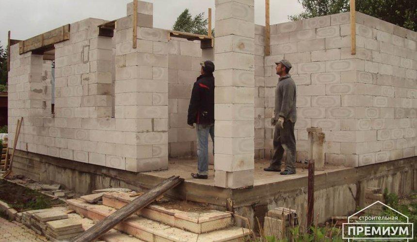 Проектирование и строительство коттеджа из блоков в п. Старопышминский 8
