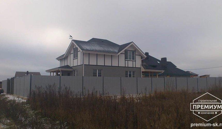Строительство коттеджа из бризолита в г. Среднеуральск 2