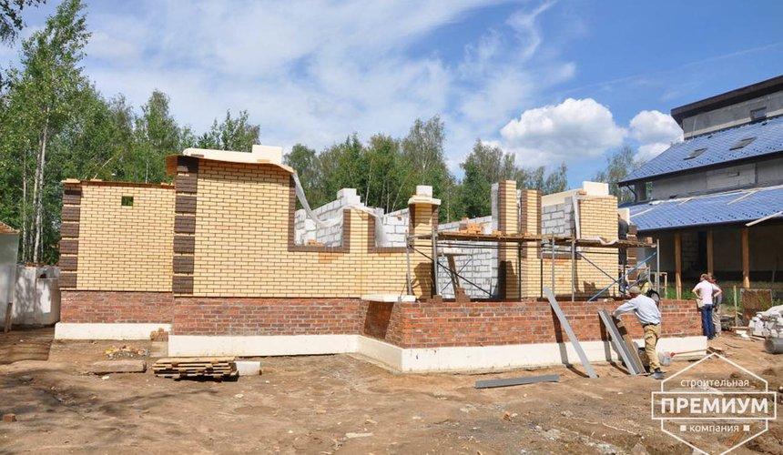 Проектирование и строительство коттеджа из блоков в п. Черданцево 4