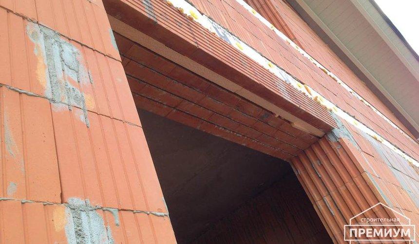 Строительство коттеджа из кирпича в п. Ключи 11