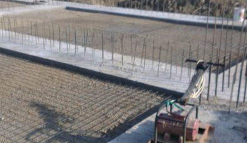 Строительство коттеджа из блоков в с. Патруши 7