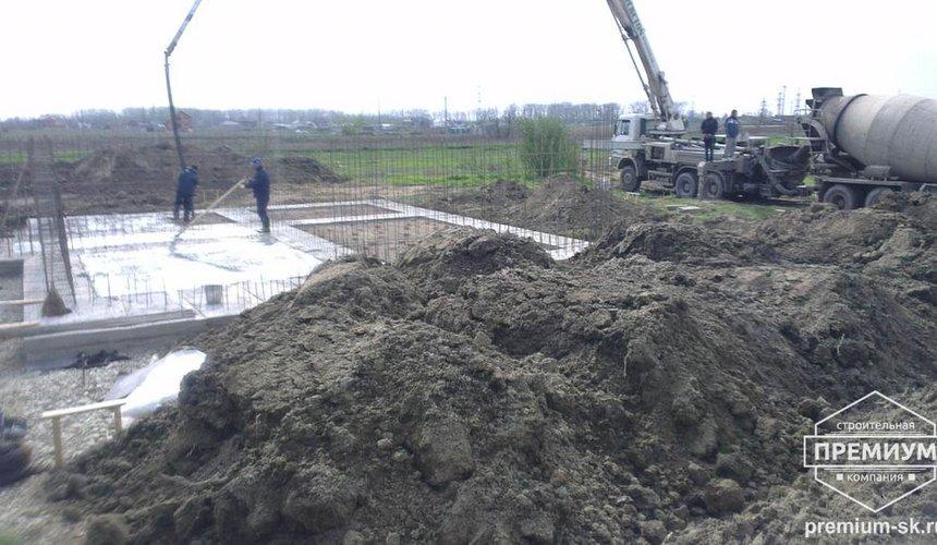 Строительство коттеджа из блоков в с. Патруши 9