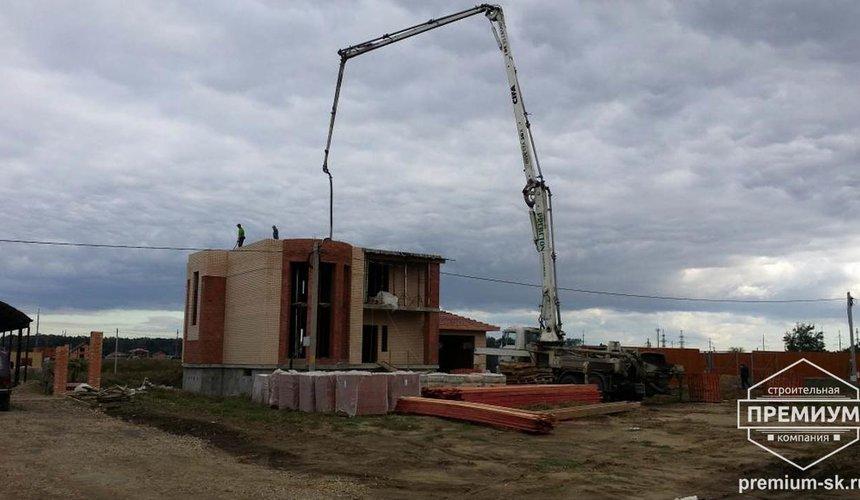 Строительство коттеджа из блоков в с. Патруши 12