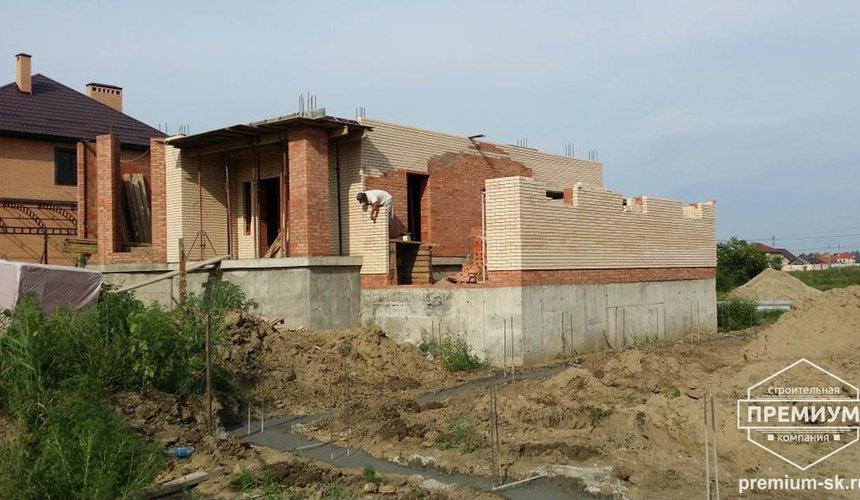 Строительство коттеджа из блоков в с. Патруши 14
