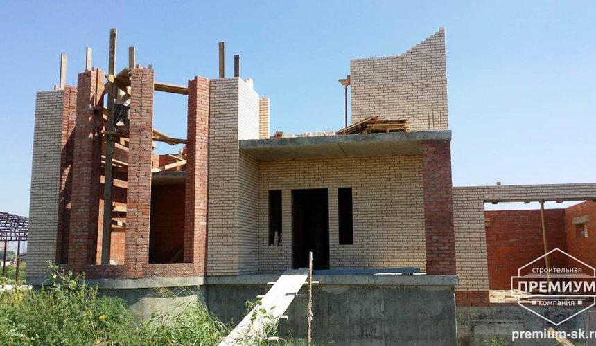 Строительство коттеджа из блоков в с. Патруши 17