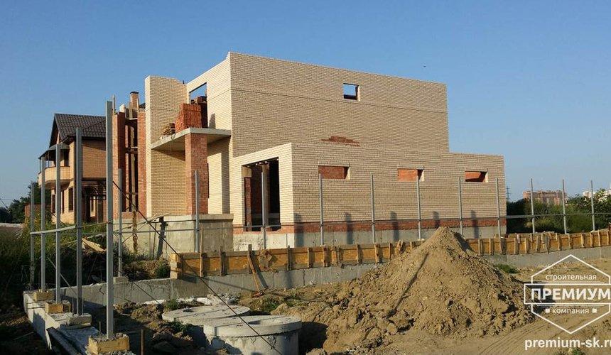 Строительство коттеджа из блоков в с. Патруши 18