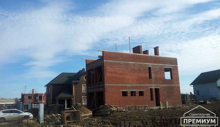 Проектирование и строительство коттеджа из кирпича в с. Косулино 9