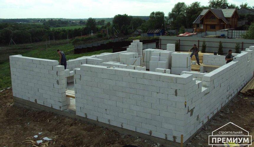 Строительство коттеджа из блоков в г. Арамиль 9