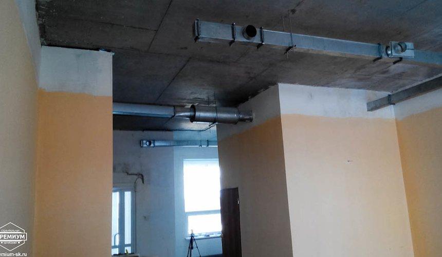 Ремонт офисного помещения 75 кв.м, ул. Мехренцева 12