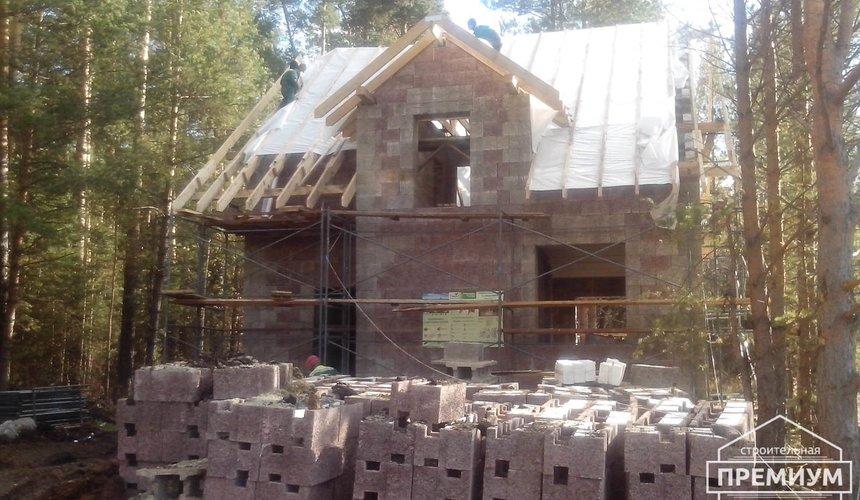 Проектирование и строительство коттеджа из дюрисола в Экодолье 36