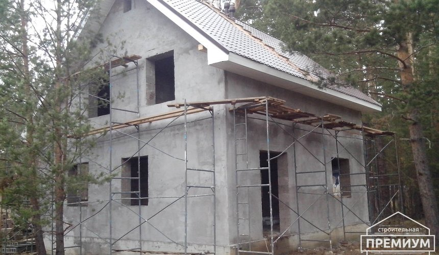 Проектирование и строительство коттеджа из дюрисола в Экодолье 38