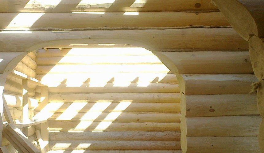 Строительство дома из бревна в Балтыме 11