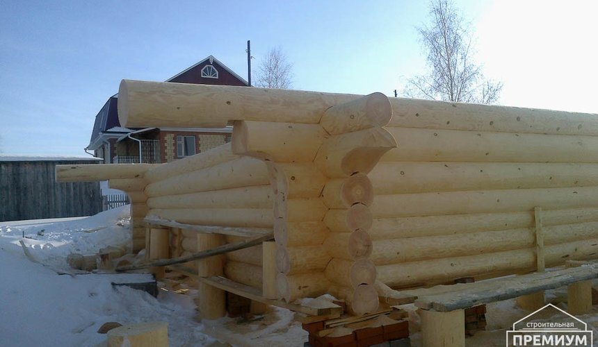 Строительство дома из бревна в Балтыме 12