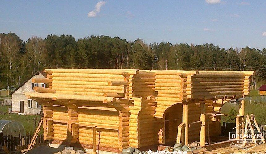 Строительство дома из бревна в Балтыме 2