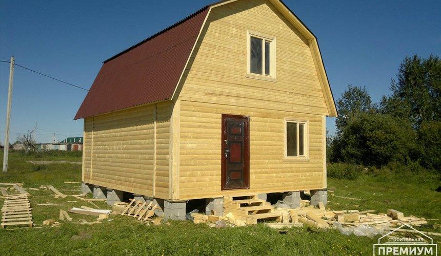 Строительство дома из бруса в Горном щите 13