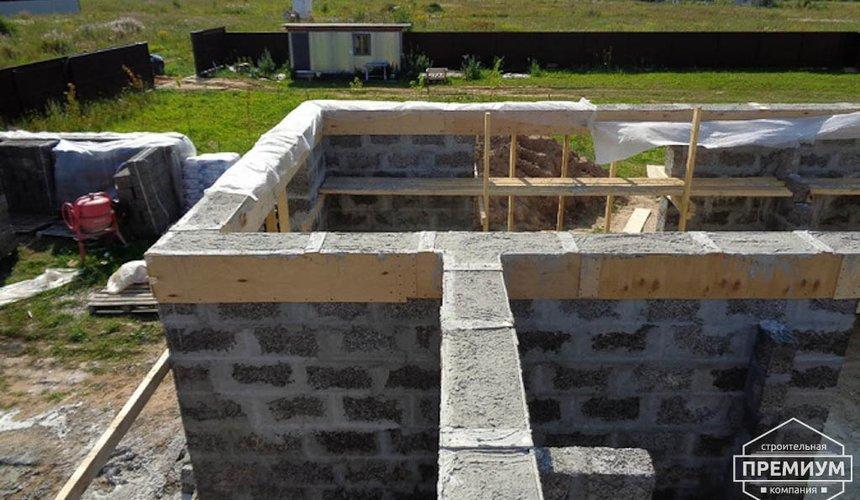 Строительство коттеджа из бризолита в Горном щите 6