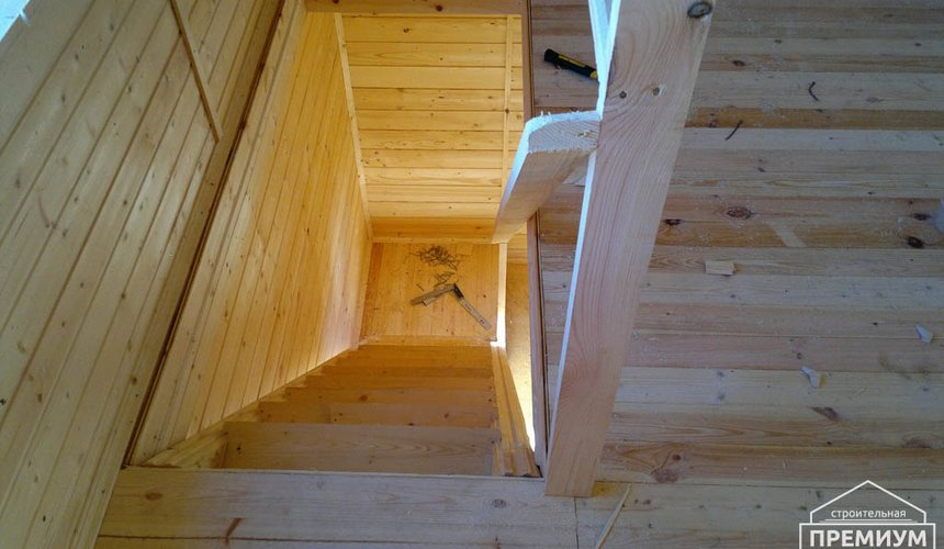 Строительство дома из бруса в Горном щите 10