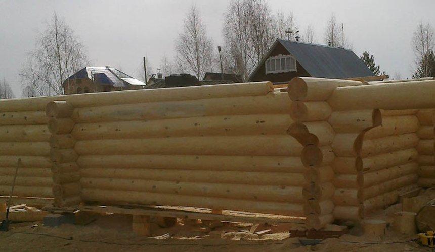 Строительство дома из бревна в Балтыме 3