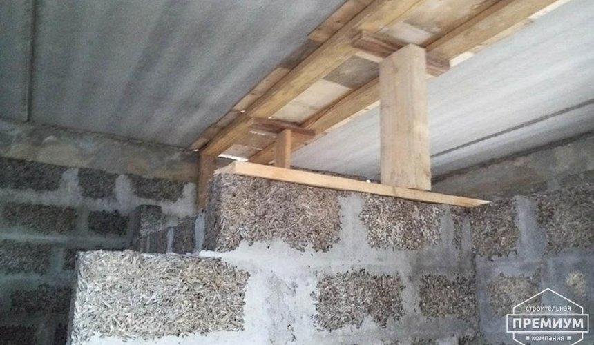 Строительство коттеджа из бризолита в Горном щите 13