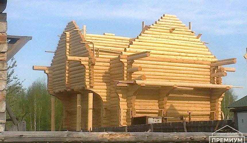 Строительство дома из бревна в Балтыме 13