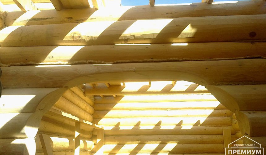 Строительство дома из бревна в Балтыме 10